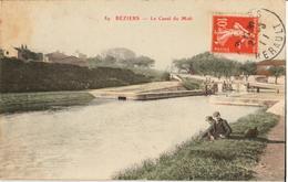 34 - BÉZIERS - LE CANAL DU MIDI - Beziers