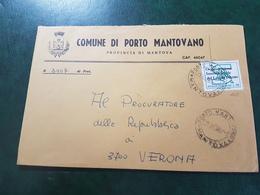 (6762) ITALIA STORIA POSTALE 1969 - 1961-70: Marcophilia