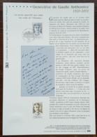 COLLECTION HISTORIQUE - YT N°3544 - GENEVIEVE DE GAULLE ANTHONIOZ - 2003 - FDC