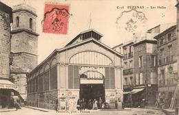 34 - PÉZENAS - LES HALLES - Pezenas