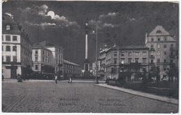 Poland Polska 1914 Warszawa Warschau, Plac Zamkowy, Place Du Chateau - Polonia