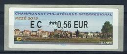France, ATM Label, Philatelic Exhibition, Rezé, 2013, 0,56€, MNH VF - 2010-... Illustrated Franking Labels