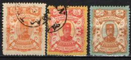 IRAN - 1894 - EFFIGIE DI NASSER-EDDIN-SHAH - USATI - Iran