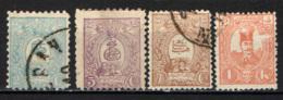 IRAN - 1885 - STEMMA DELL'IRAN E SHAH NASR-ED-DIN - NUOVI TIPI - USATI - Iran