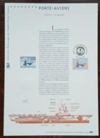 COLLECTION HISTORIQUE - YT N°3557 - PORTE AVIONS CHARLES DE GAULLE - 2003 - FDC