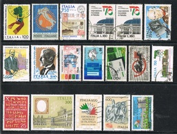 ITALIA / ITALY - FILATELIA / PHILATELY - LOTTO DI FRANCOBOLLI / LOT OF STAMPS - USATO / USED - Filatelia & Monete