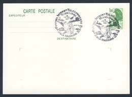 France Rep. Française 1987 Card / Karte / Carte - 2e Festival Int. Telecommande Et - Modelisme / Fernbedienung - Treinen