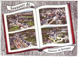 35 Souvenir De Chartres De Bretagne - Multivues - Ed: Lapie 115 - Other Municipalities