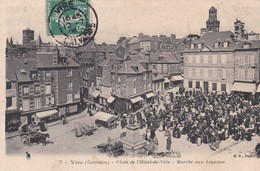 VIRE -  Place De L' Hôtel De Ville  - Marché Aux Légumes - Vire
