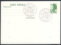 France Rep. Française 1987 Card / Karte / Carte - CHRONOPOST - Fete Des Associations / Fest Der Vereinigungen - Treinen