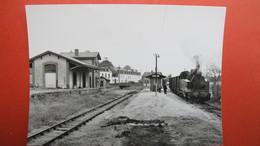 Ligne Carhaix-Châteaulin. Châteauneuf Du Faou. Printemps 1967. - Châteauneuf-du-Faou