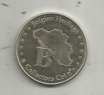 Médaille , Belgique ,Bruxelles , Brussel , MANNCKEN PIS , Belgian Heritage , Collectors Coin , 2 Scans - Touristiques