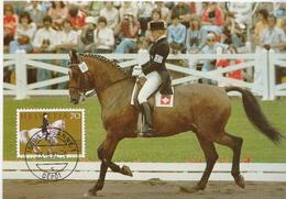 Switzerland Maximum Card With Christine Stückelberger - Horses
