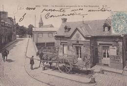 VIRE  -  La Bascule Et Perspective De La Rue D ' Aigneaux - Vire