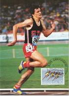 Switzerland Maximum Card With Markus Ryffel - Athletics