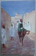 CPA MAROC MOROCCO - Street Scene AL-ARAISH (LARACHE) - Raphael Tuck Illustr. By H Denselow- Réf. O 96 - Autres