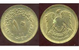 EGYPTE 10 Milliemes 1393-1973 - Egypte