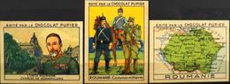 3 IMAGES EDITES Par Le CHOCOLAT PUPIER - ROUMANIE - TBE. - Other