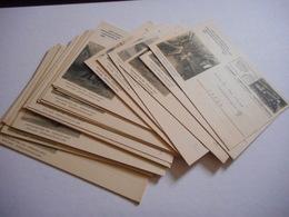 PHILATELIE,  SUISSE, 1947 CENTENAIRE DES CHEMINS DE FER, BEAU LOT DE DOCUMENTS PHILATELIQUES, TOUS LES SCANS - Suisse