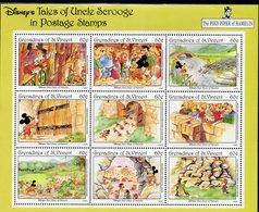 SAINT VINCENT - Grenadines Timbres Neufs ** De 1992   (ref 5840 ) Disney - St.Vincent & Grenadines