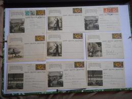 PHILATELIE,  SUISSE, 1949 CENTENAIRE DES POSTES FEDERALES, BEAU LOT DE DOCUMENTS PHILATELIQUES, TOUS LES SCANS - Suisse