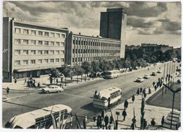 Lithuania Lietuva 1960 Klaipeda, Monte Street, Car Bus Transport - Lithuania