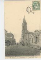 GARCHES - L'Eglise Et La Poste - Garches