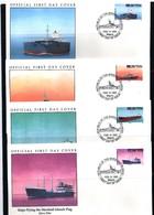 Marshall Islands 1992 Ships Flying The Marshall Islands Flag FDC - Ships