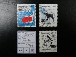"""2015 """" 3 Werte """" Gestempelt, LOT 954 - 2013-... (Willem-Alexander)"""