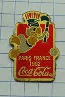 Pins Coca Cola Paris France 1992 - Coca-Cola