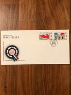 Seychelles - Enveloppe Premier Jour FDC 1989 Révolution Française - Seychelles (1976-...)