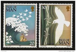 ISLE Of MAN 1995 - EUROPA Cept / PEACE AND FREEDOM - 2v Mi 627-28 MNH ** Cv€2,40 N290 - Man (Insel)