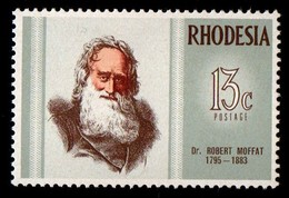 Rhodesia.  1972 Famous Rhodesians. MNH - Rhodesia (1964-1980)