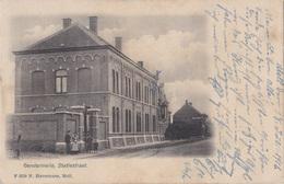 MOL CA. 1900 GENDARMERIE STATIESTRAAT MET ANIMATIE - ED. HAVERMANS - VERZ. 1916 FELDPOST LANDSTURM SALZWEDEL - Mol
