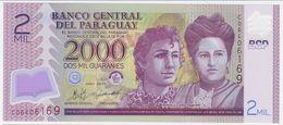 Paraguay P 228 C - 2000 2.000 Guaranies 2011 - UNC - Paraguay