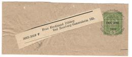 10487 - Bande Pour Journal Surchargée - Enteros Postales