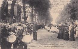 MOL 1917 FANFARE HARMONIE STAATS WELDADIGHEIDS SCHOOL  ZEER MOOIE ANIMATIE - VERZ. FELDPOST LANDSTURM ARMEEKORPS - Mol