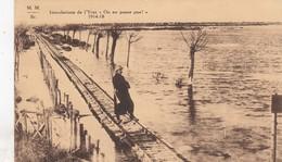 DIKSMUIDE / OMGEVING / OVERSTROMING VAN DE IJZER / OORLOG 1914-18 - Diksmuide