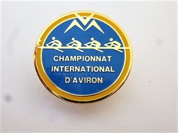 PINS SPORTS CANOE KAYAK AVIRON CHAMPIONNAT INTERNATIONAL/ 33NAT - Aviron