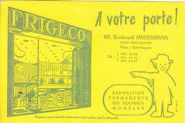 BUVARD LOT DE 2- REFRIGERATEUR - Buvards, Protège-cahiers Illustrés