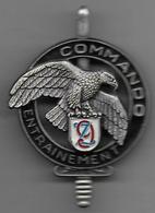 Commando Entrainement 9e Zouaves -  Insigne Delsart GS31 - Hueste