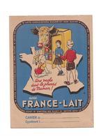 Protège-cahier France-Lait - Buvards, Protège-cahiers Illustrés