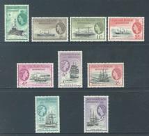 FALKLAND ISLANDS - MLH/*. - 1954 - BOAT - Yv 51-54 57 58 61-63 -  Lot 18410 - 2/6 Sh GRATIS - Falkland