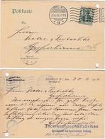 DEUTSCHES REICH 1906 - Firmenpostkarte Thomasphosphatfabriken Berlin - Covers & Documents