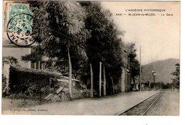 St JEAN-de-MUZOL  -  La Gare - France
