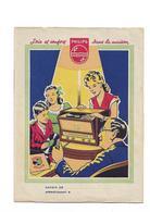 Protège-cahier Philips   Postes Appareils Ménagers - Buvards, Protège-cahiers Illustrés
