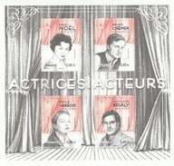 FRANCE 2017 BLOC NEUF ACTRICES - ACTEURS - F 5174 - Mint/Hinged