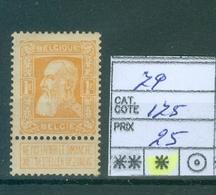 79 X Côte 175€ - 1905 Thick Beard