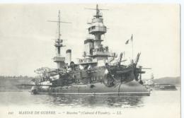 """Boot - Boat - Bateaux - Ship - Shiff - 121 - Marine De Guerre - """" Masséna """" (Cuirassé D'Escadre) - L.L. - Guerre"""
