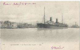 Boot - Boat - Bateaux - Ship - Shiff - 118 - Le Havre - La Savoie Dans Le Port - L.L. - 1901 - Le Havre